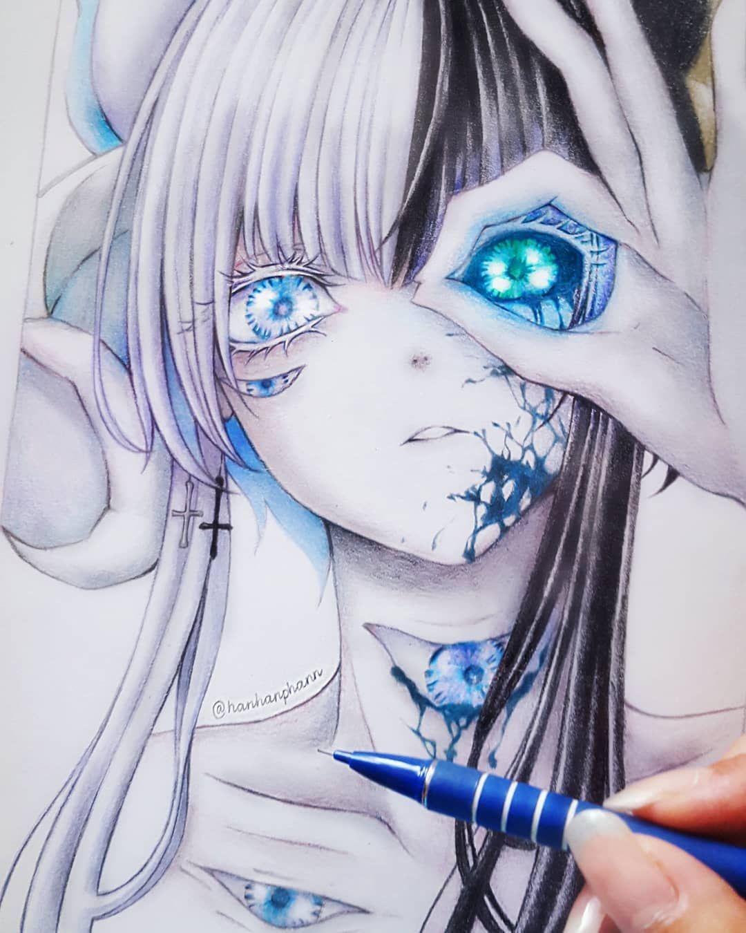 Красивые картинки аниме для начинающих художников