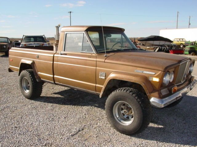 1970 Jeep J2000 Gladiator 4 4 For Sale Jeep Detroit Diesel Trucks