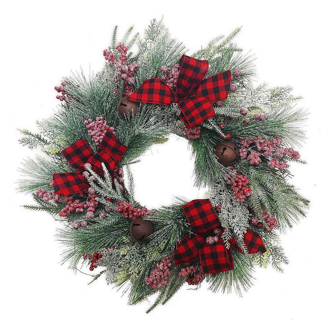 21+ Bed bath and beyond christmas wreaths ideas