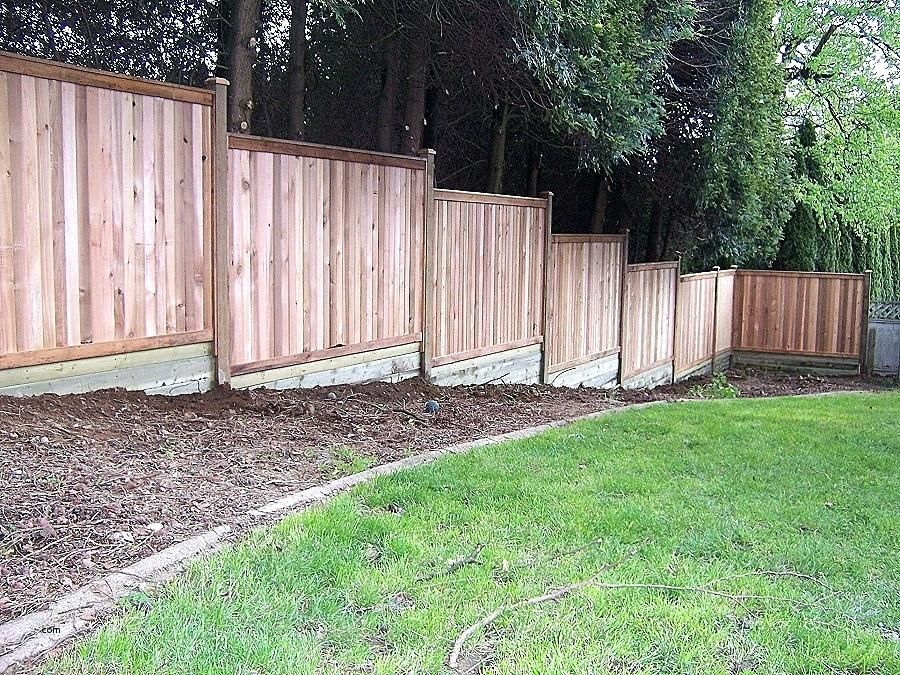 Building A Fence On Uneven Ground Build