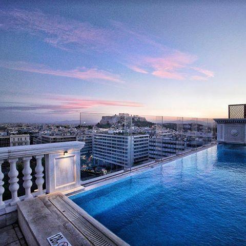 ATHENSRooftop pool at