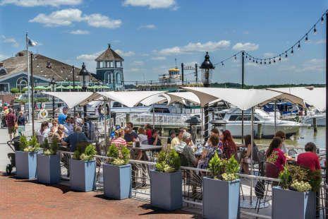 Waterfront Activities In Alexandria Va River Cruises Restaurants