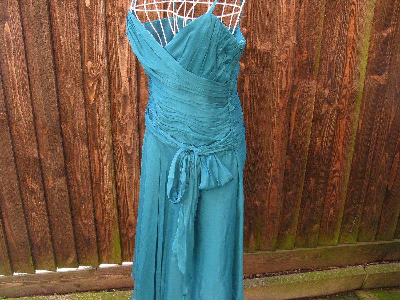 Laura Ashley Dress, Silk Dress, Teal Dress, Vintage Laura Ashley ...