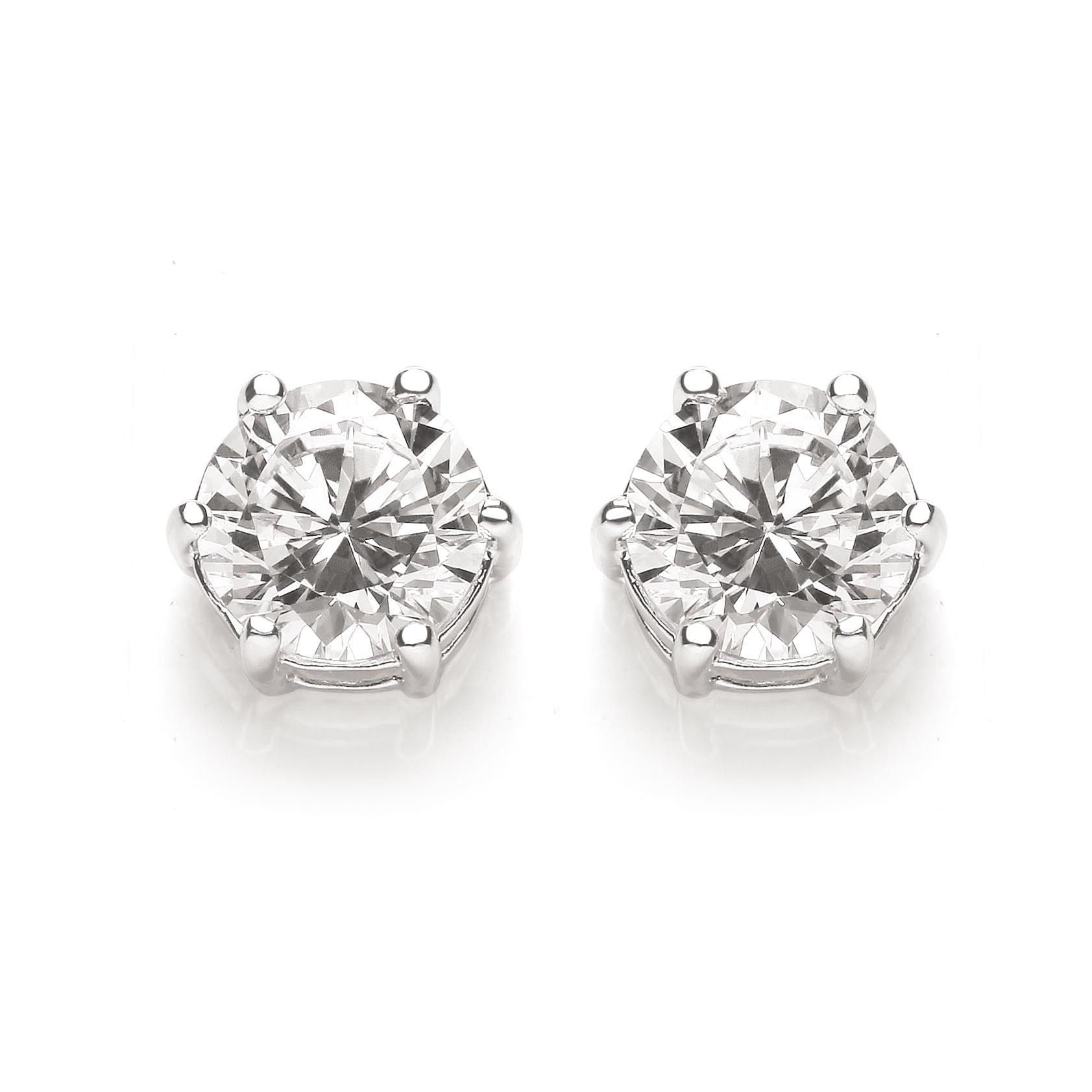 drop one ever i diamond pin h in carats silver earrings by sterling cage