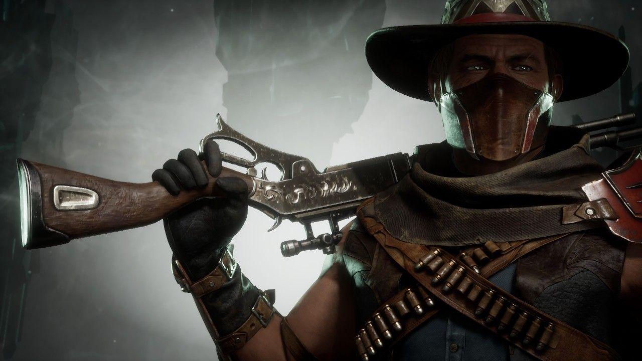 Erron Black Mortal Kombat Mortal Kombat Art Mortal Kombat Characters