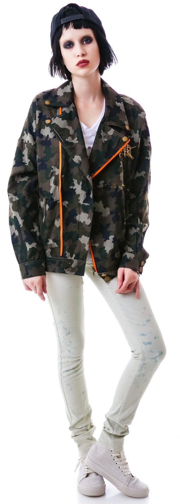 Cadet Kelly Camo Jacket #boydollsincamo