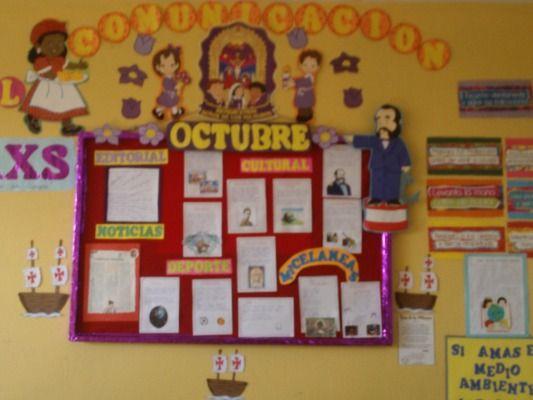 238 533 400 murales pinterest for Classroom mural