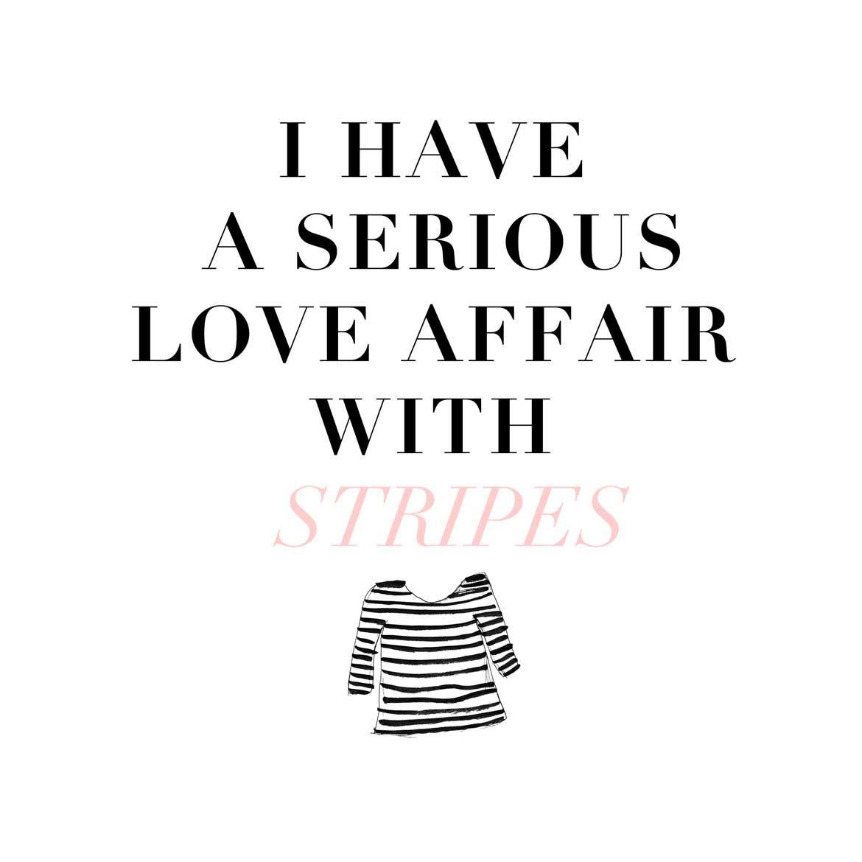 Stripes quote. | Fashion Quotes | Pinterest | Fashion