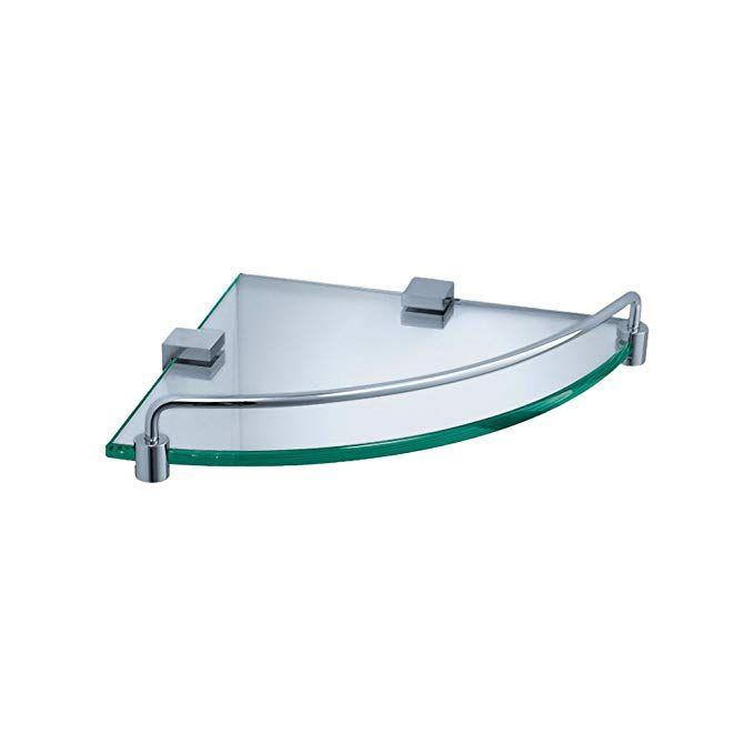 Fresca Bath FAC0448 Ottimo Corner Glass Shelf, Chrome Review