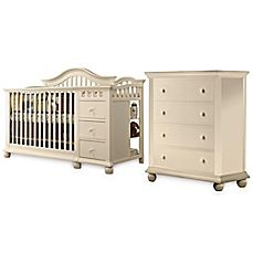 Sorelle Cape Cod Nursery Furniture Collection In French White