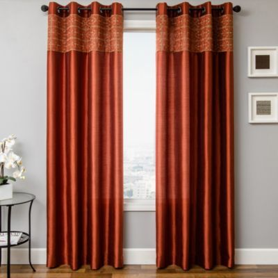 Love This Curtain For My Dedroom Eva 84 Inch Grommet Top Window