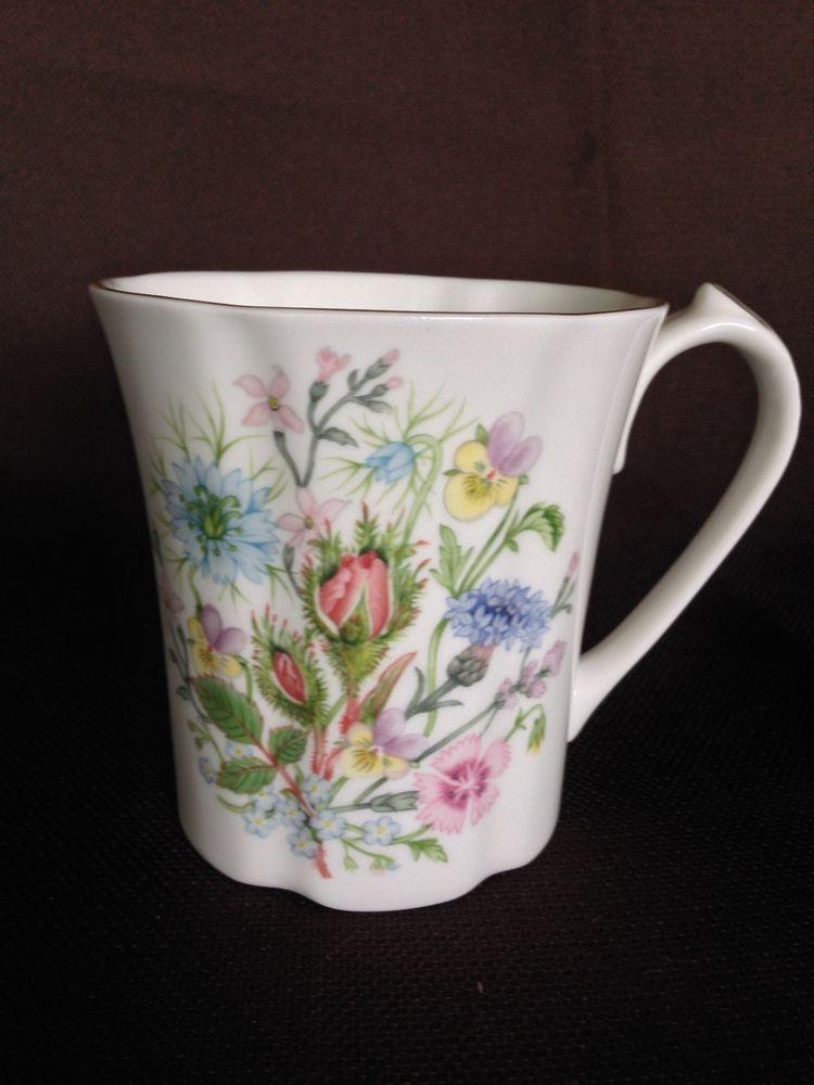 Aynsley China \ WILD TUDOR\u0027 Coffee Mug & Aynsley China \