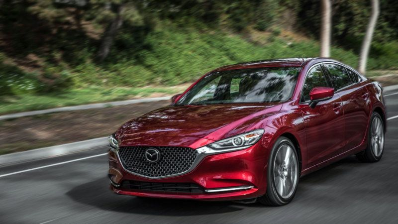2018 Mazda6 Sedan Gets Top Iihs Safety Rating With Headlight Upgrade Mazda Cars Mazda 6 Turbo Mazda 6
