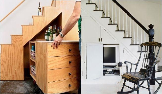 Aprovechar al m ximo el hueco de la escalera living for Cama bajo escalera