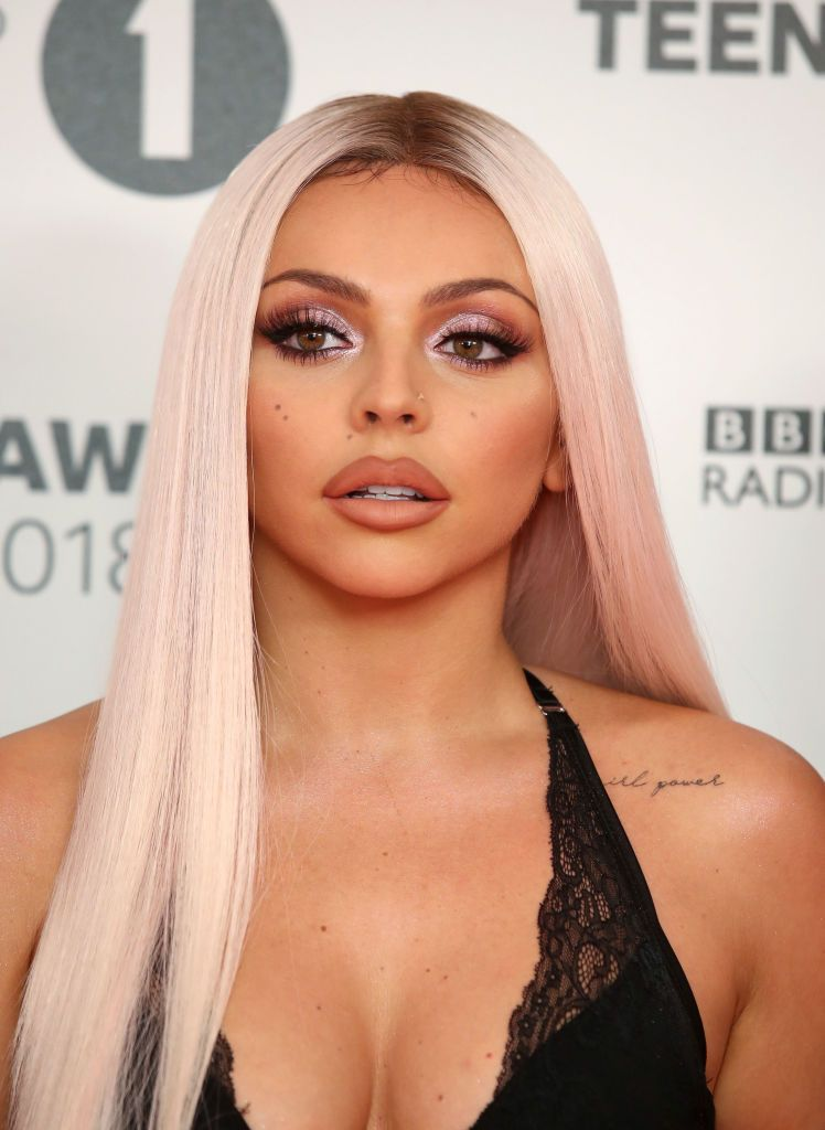 London England October 21 Jesy Nelson Attends The Bbc Radio 1