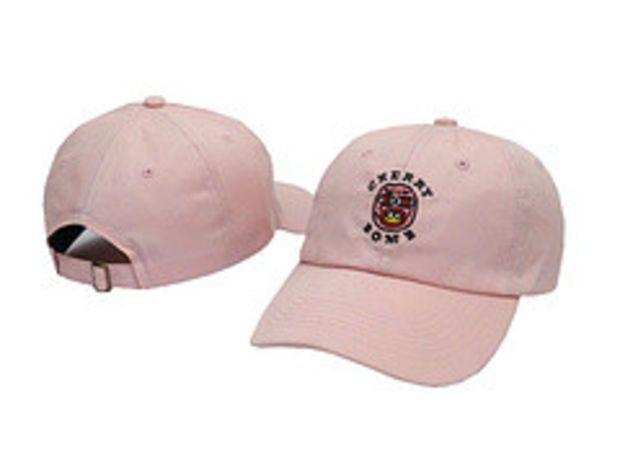 d06f9cb73b7f Cherry Bomb Pink Odd Future OFWGKTA Golf Wang Wolf Gang Hip Hop Snapback  Sports Cap Casquette Baseball Polo Strapback Hat