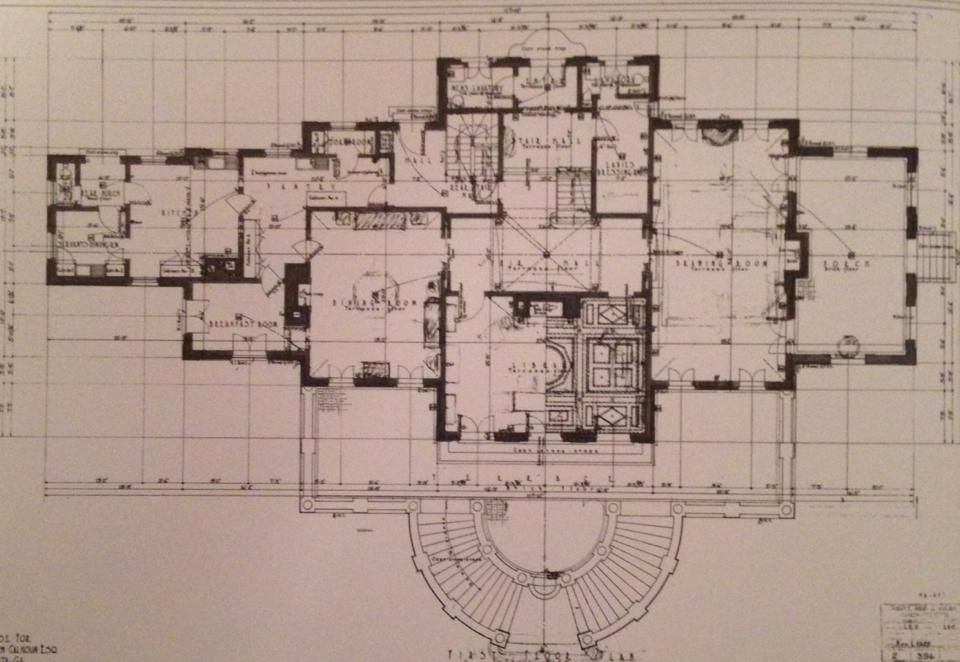 Swan House Atlanta Ga Architectural Floor Plans Swan House Atlanta Floor Plans