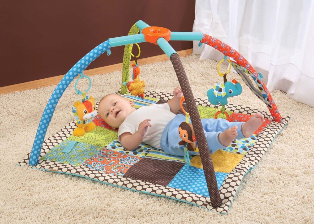 Baby Floor Toys : Baby activity center gym play soft mat kids infant toddler