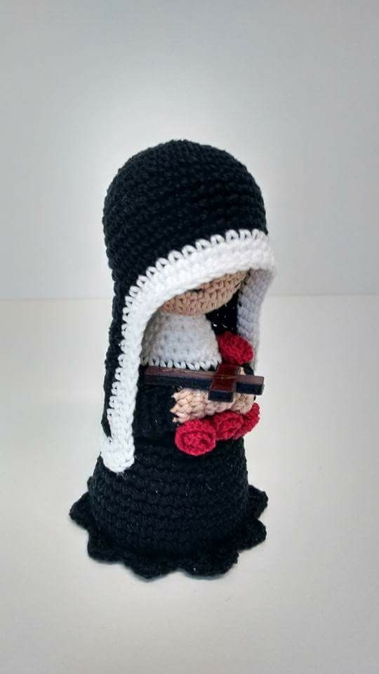 Virgen | Crochet | Pinterest | Crochet, Crochet dolls y Crochet angels