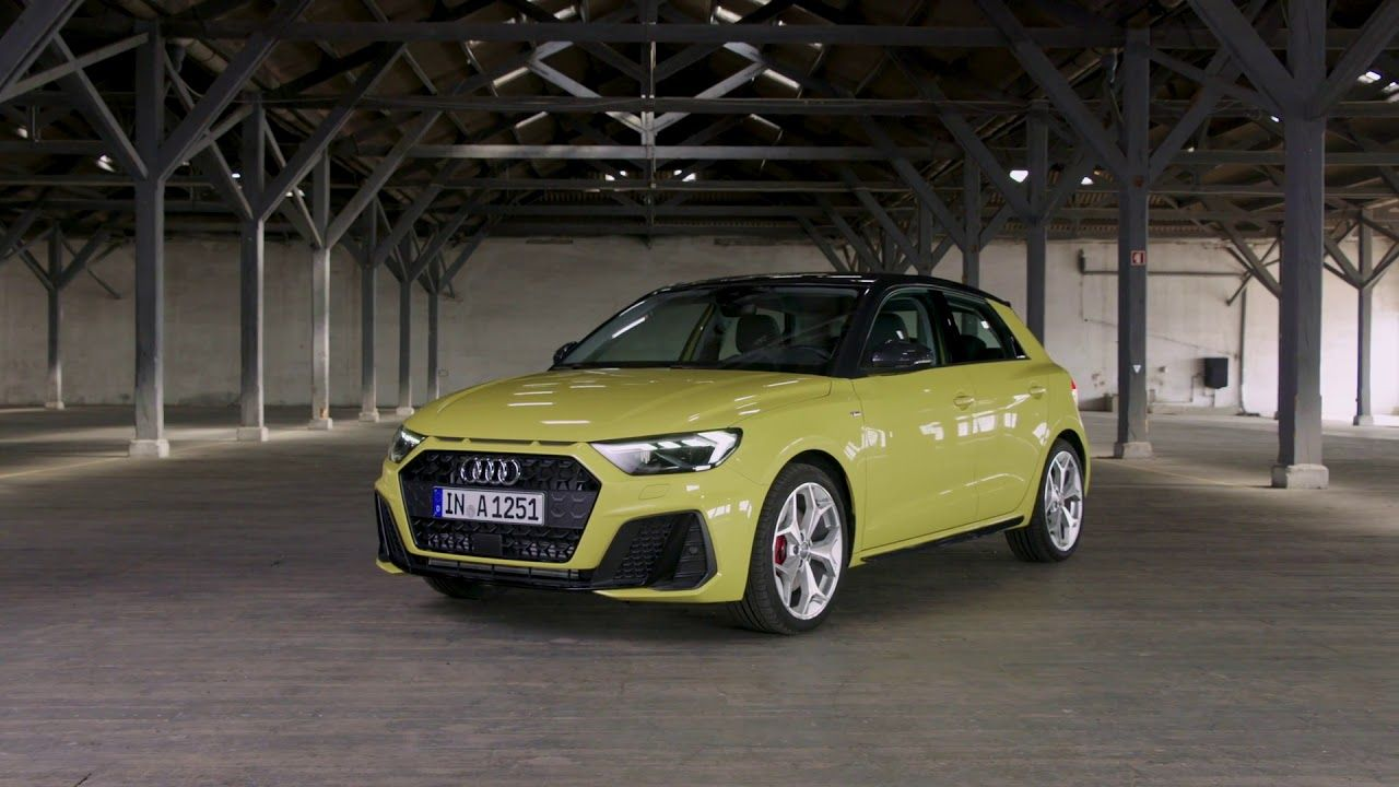 2019 Audi A1 Sportback Driving Scenes Exterior And Interior Shots