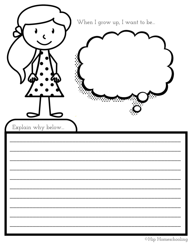 photograph about All About Me Free Printable Worksheets identify All Regarding Me Worksheet: A Printable Guide for Basic Small children