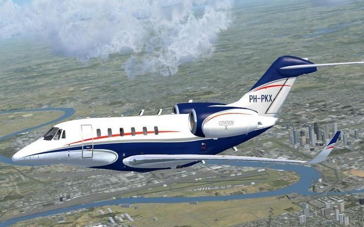 FSX Cessna Citation X PH-PKX | Flight Simulator X | FSX Addons