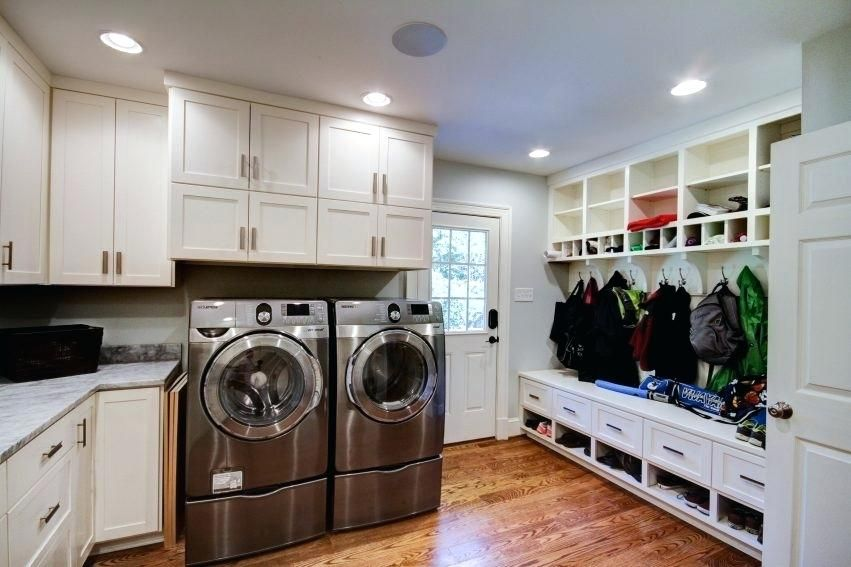 Mudroom And Laundry Room Combo Home Decor And Interior Decorating