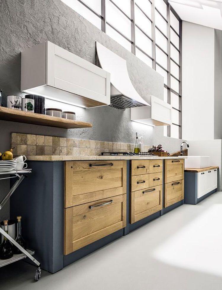 50 Foto di Cucine in Muratura Moderne | Arredo interni ...