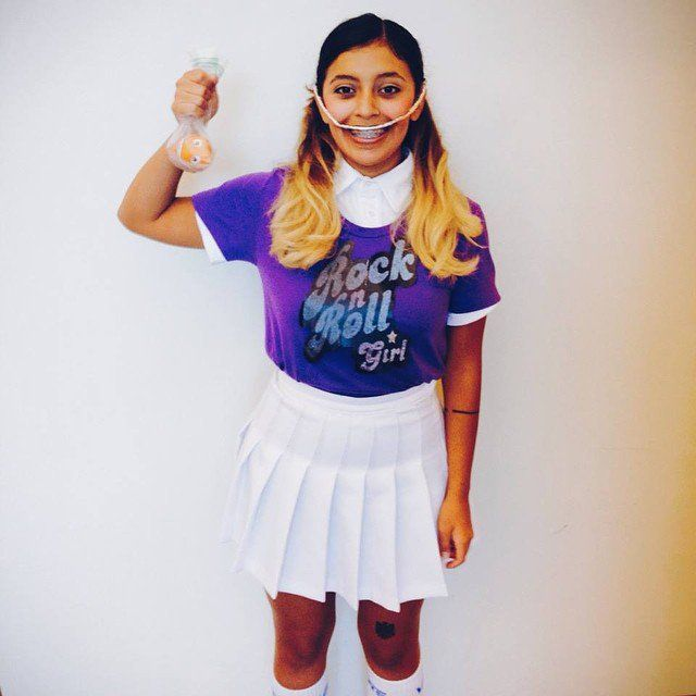 the easiest diy halloween costumes for fashion girls - Clever Women Halloween Costumes