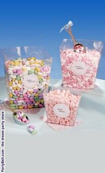Candy Buffet Square Plastic Container Set 11 07