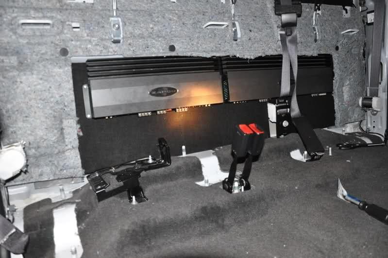Amp Rack Chevy Silverado 1500 Silverado, Installation