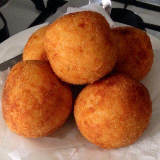 Photo of Italian Arancini Risotto Balls Recipe