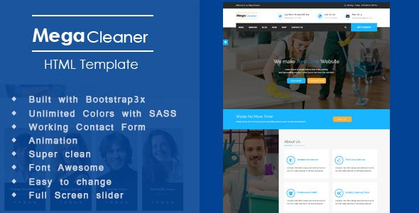 Mega cleaner professional house cleaning services and cleaning mega cleaner professional house cleaning services and cleaning company html template business corporate flashek Choice Image