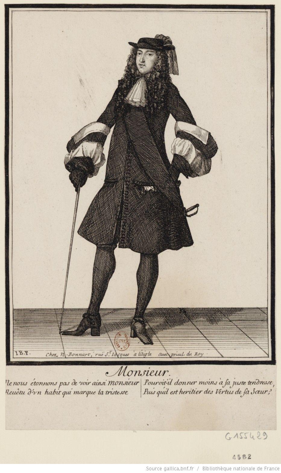 Portrait De Philippe De France Duc D Orleans En Pied Estampe Philippe De France Marie Therese D Autriche Portrait