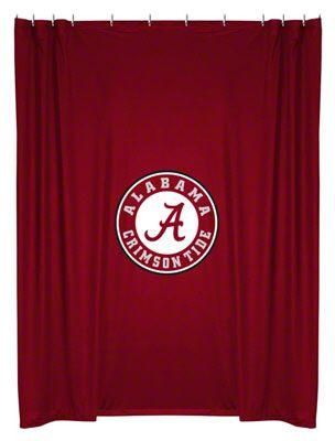 Alabama Crimson Tide Shower Curtain Alabama Crimson Tide