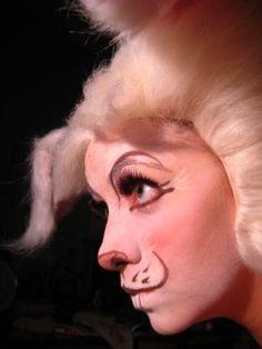 400897b2858 rabbit nose makeup illusion - Google Search | halloween | Wonderland ...
