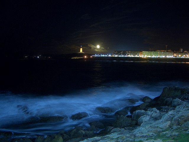 A Coruña, vista desde el Millenium