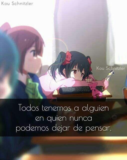 Ya Sea Agradable Estresante O Deprimente Anime Quotes