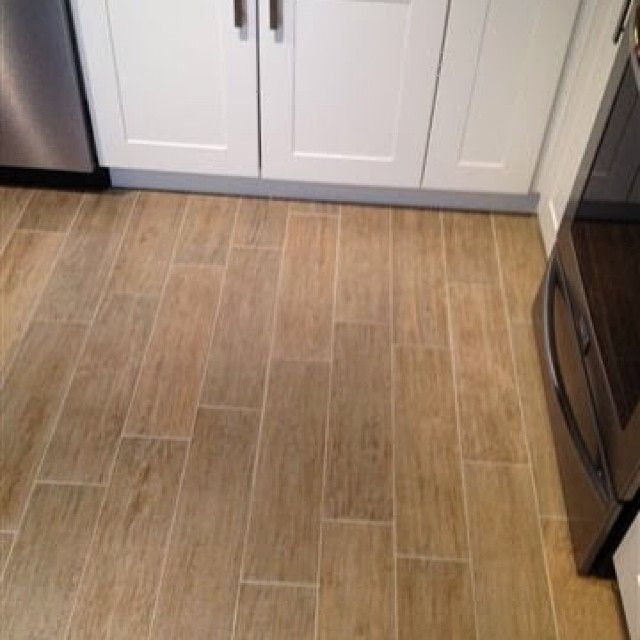 6x24 Florida Tile Natura Hampton Blonde Plank Installed On A Project In New