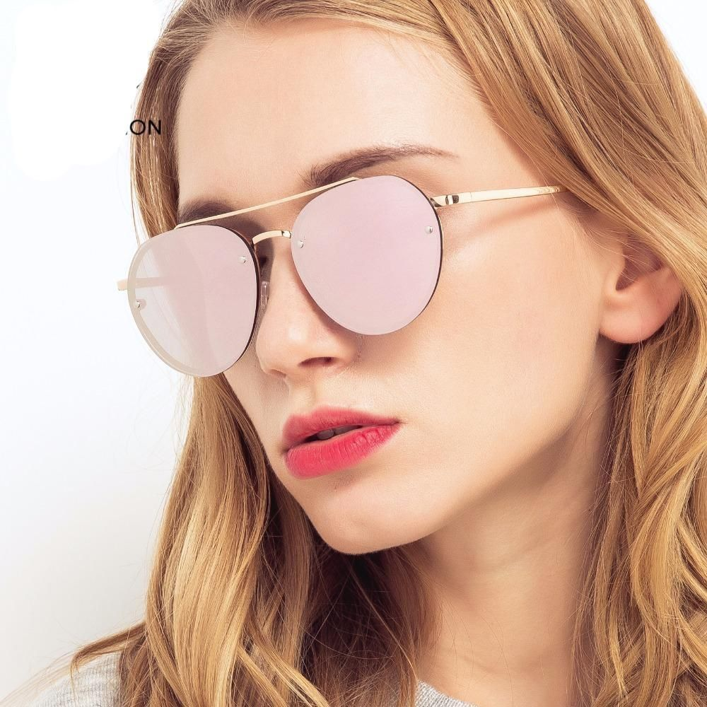 0db01a4cbd7a5 Eyewear Type: Hot Pink Pilot Sunglasses Style: Round Frame Material: Alloy  Lenses Material: Acrylic Lens Width: 56 mm Lens Height:50mm Lenses Optical  ...