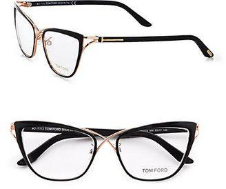 1ca689479ee Tom Ford Cat s-Eye Eyeglasses Black