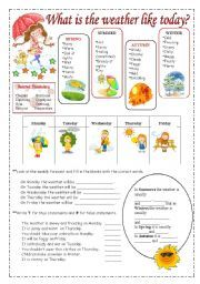 english worksheet weather vocabulary weather seasons pinterest worksheets and english. Black Bedroom Furniture Sets. Home Design Ideas
