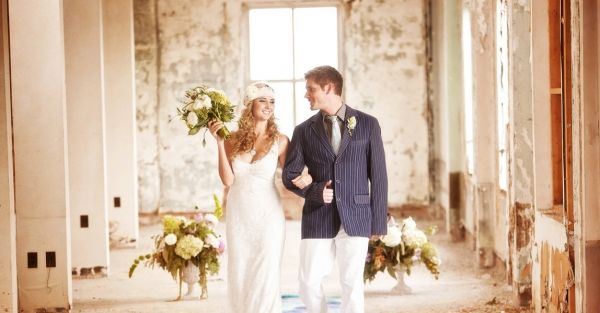 1920s Loft Wedding Inspiration