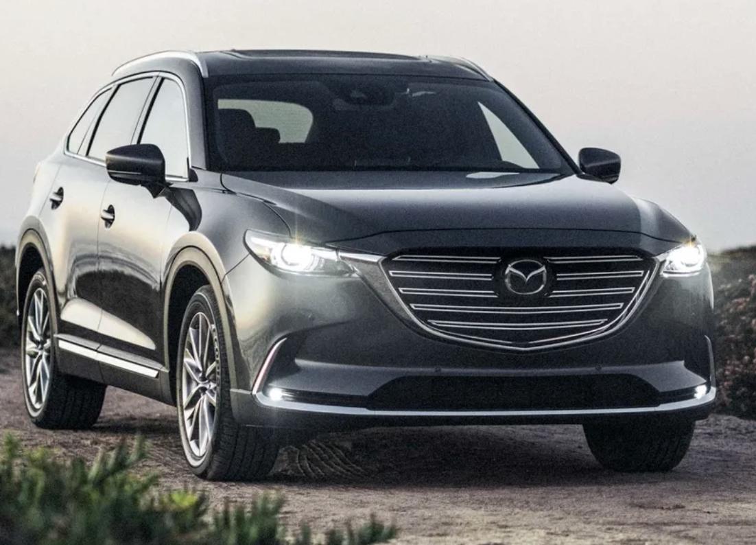 Iihs Safest Suvs 2020 Mazda Cx 9 Mazda Safest Suv Mazda Cx 9