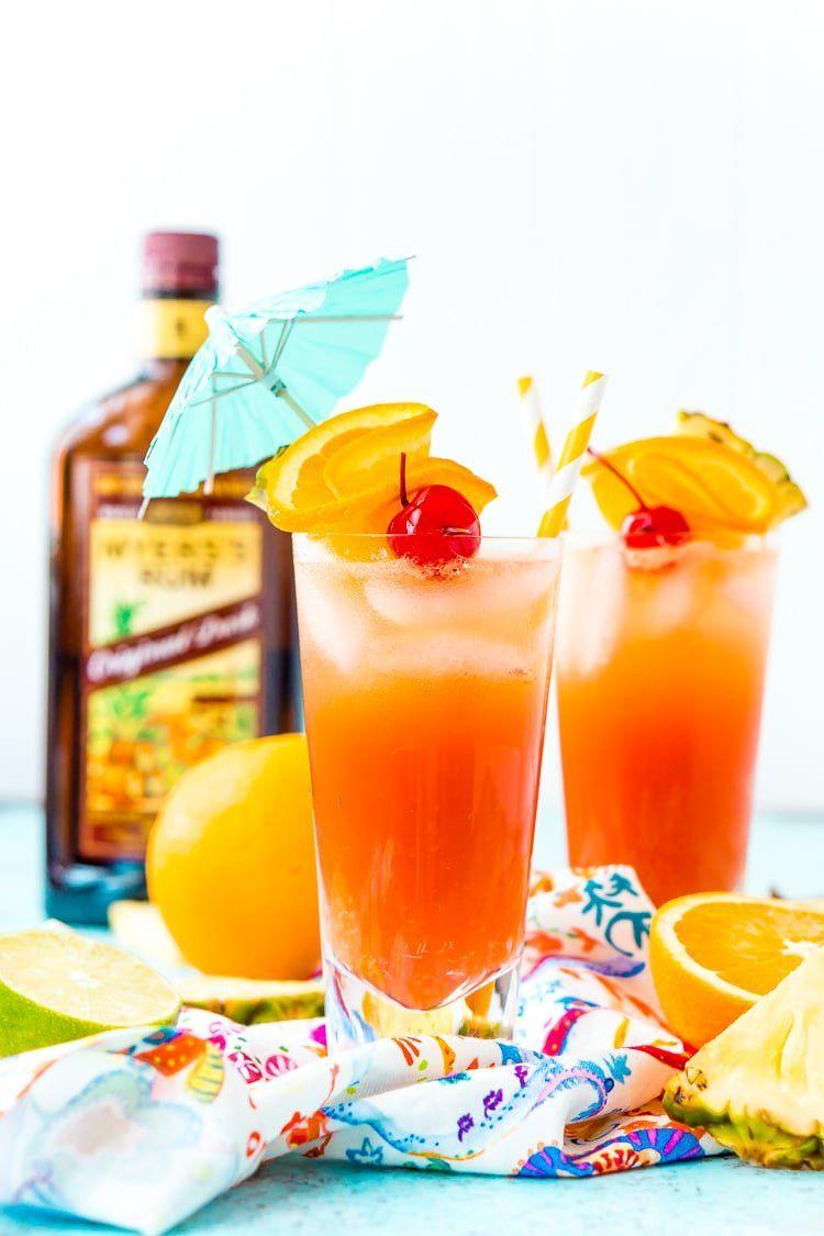 Planter's Punch Cocktail Recipe | Sugar & Soul