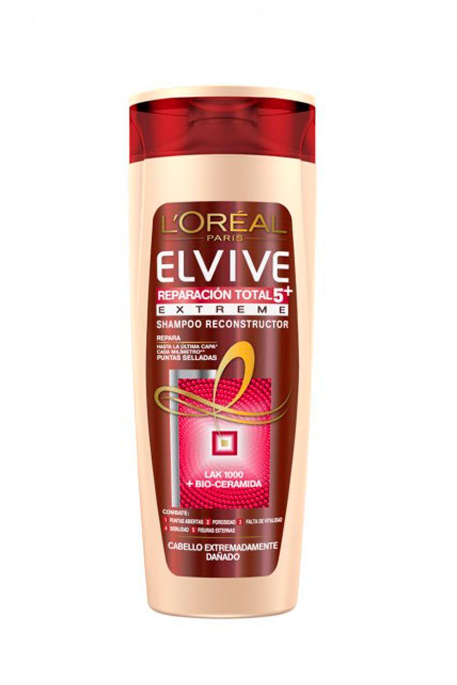 Elvive Reparacion Total Extreme Shampoo Combate Puntas Abiertas