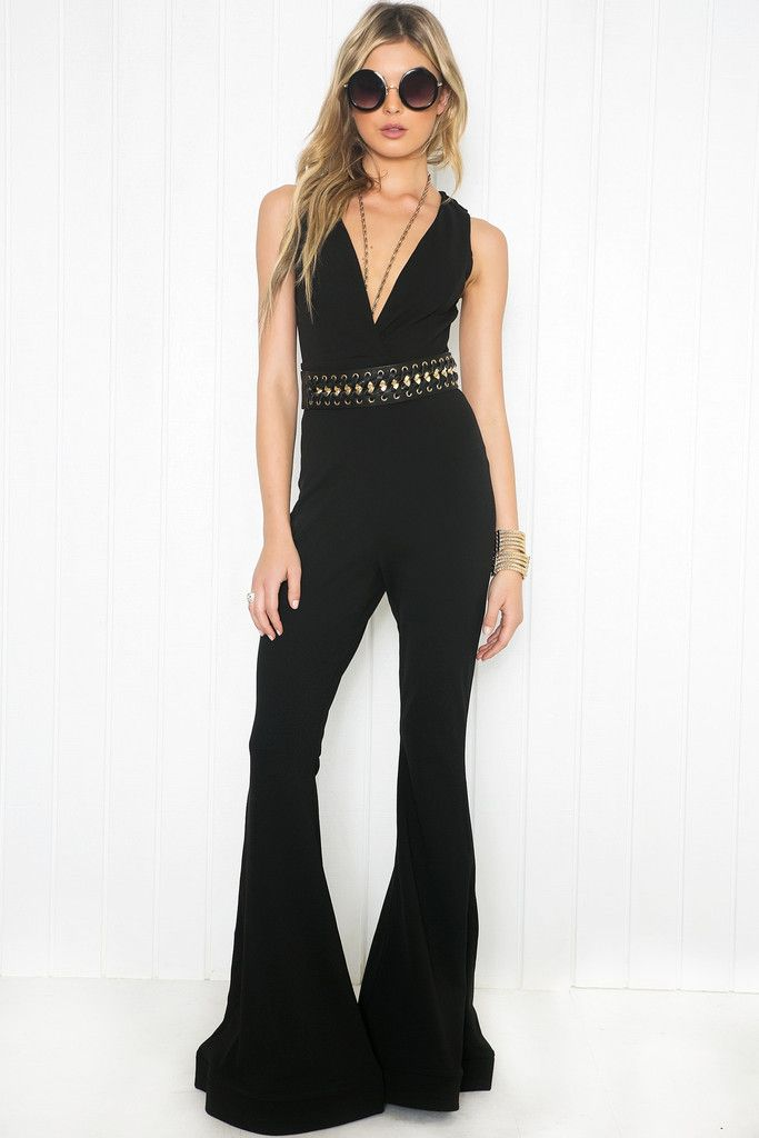 Catsuit Festival outfit! Smoky bellbottom costume