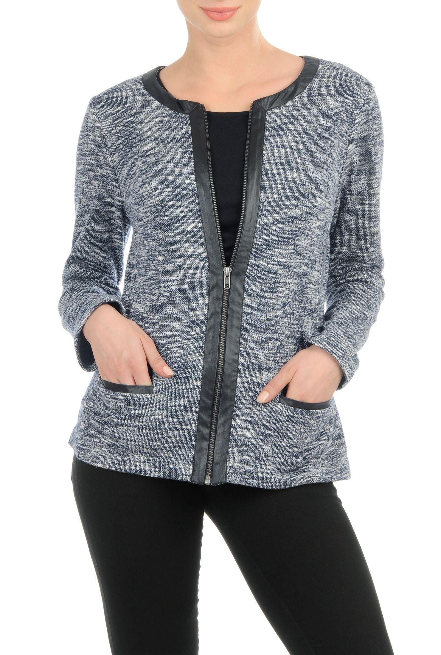, blue jackets, Cotton/acrylic jackets, deep navy jackets
