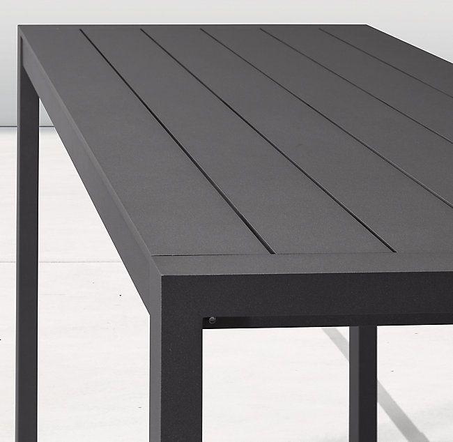 Awesome Aegean Aluminum Bar Table In 2019 Furniture Table Machost Co Dining Chair Design Ideas Machostcouk