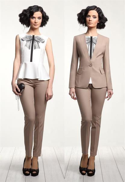 2783b633c6759fc Нарядный женский брючный костюм купить | Одежда | Брючный костюм ...